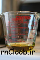 Measure 1 cup of olive oil